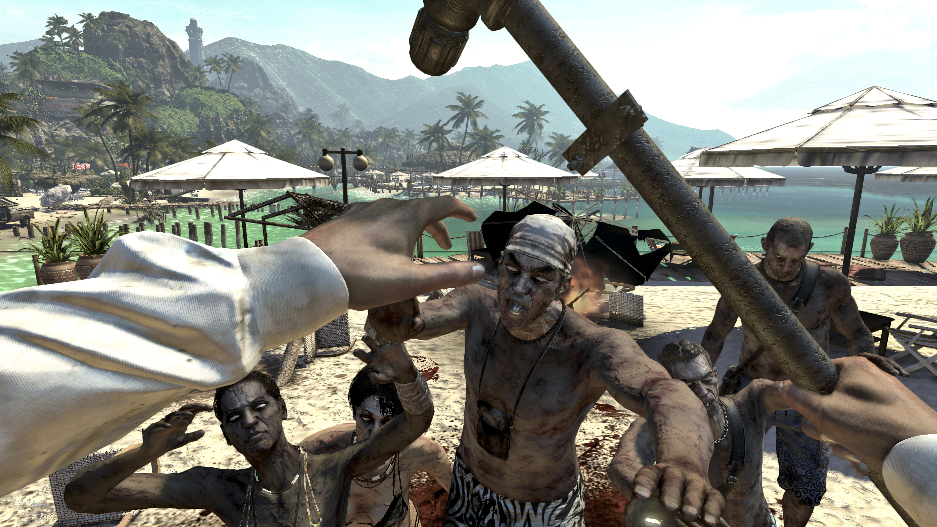 Dead Island teases new screens mmm.. zombies