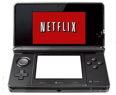 Netflix now available on 3DS