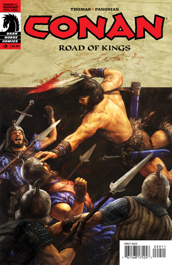 Review – Conan: Road Of Kings #9