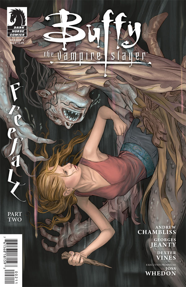 Review – Buffy The Vampire Slayer: Season 9 #2  Freefall Part 2