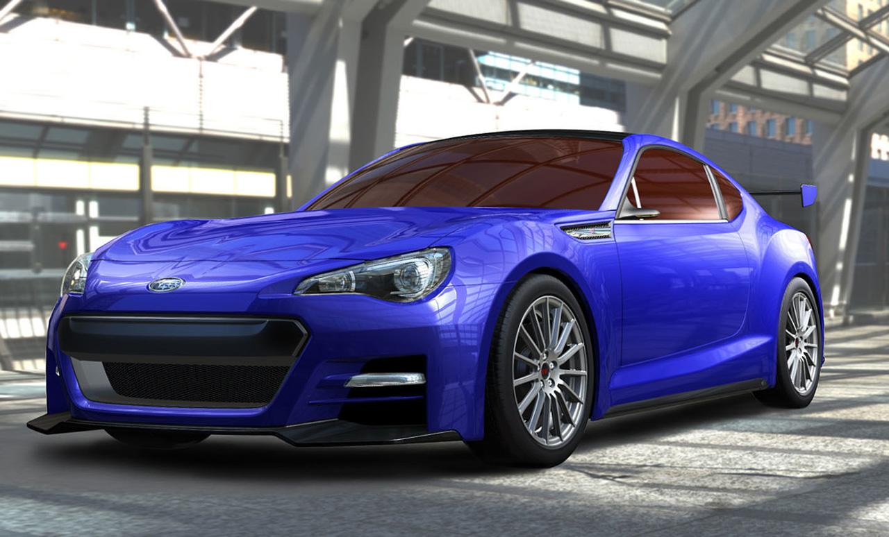 Subaru BRZ Concept – STI pictures emerge