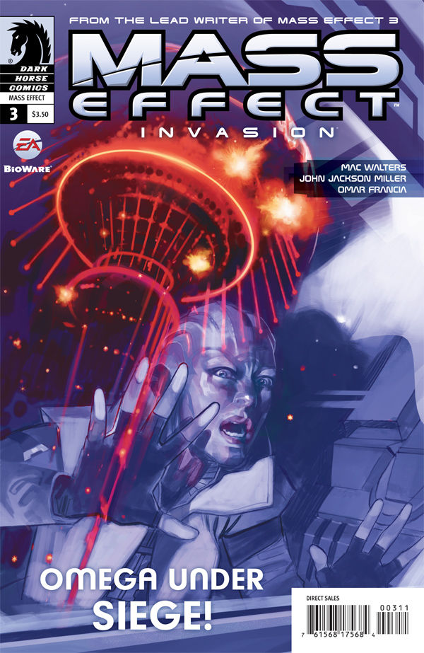 Review – Mass Effect: Invasion #3 – Omega Under Seige! Part 3 of 4