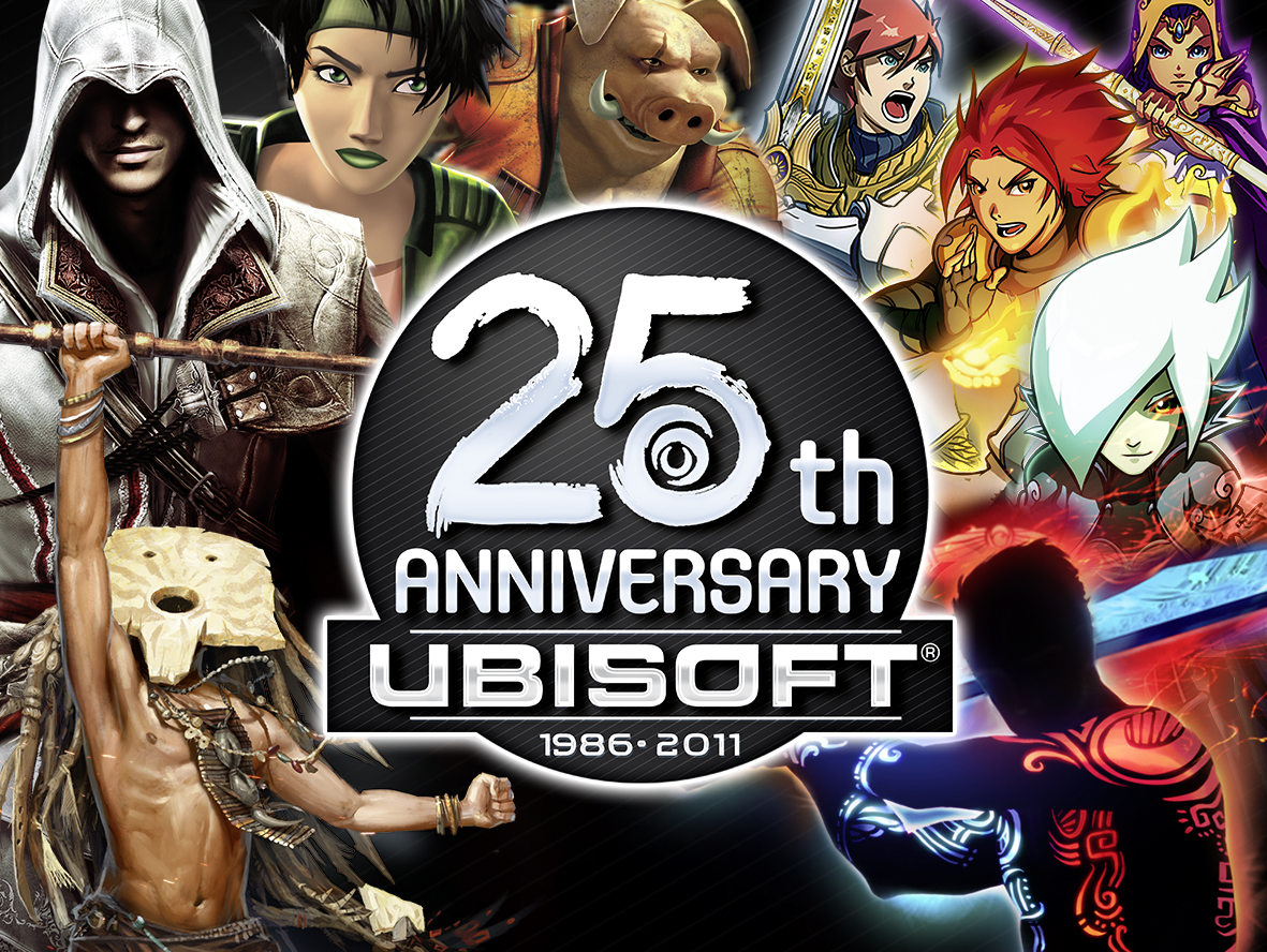 Ubisoft Celebrates 25 years of gaming on Xbox Live