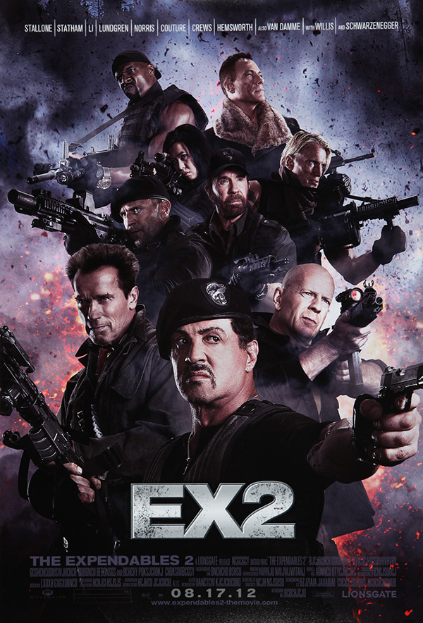 The Expendables 2 first trailer!