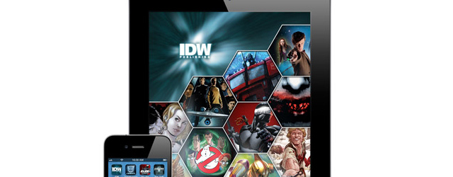 comiXology and IDW expand digital footprint