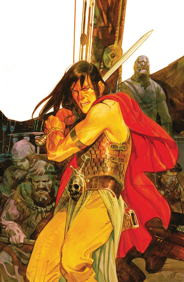 Review – Conan The Barbarian #1: Queen Of The Black Coast – Part 1