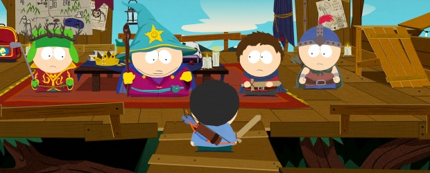 Obsidian Entertainment shows off a little of their current work on the new South Park game from THQ