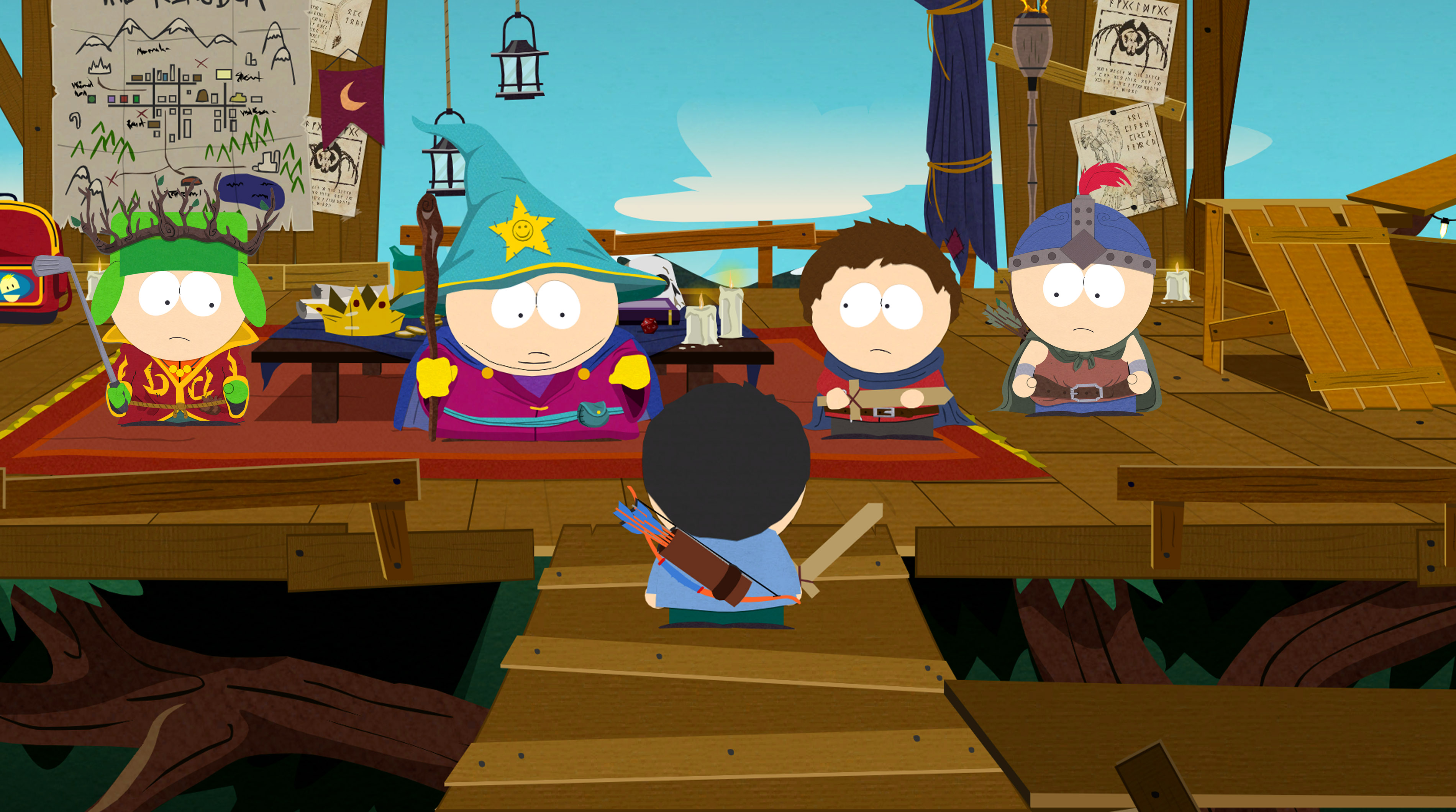 South Park: The Game gets a slew of screens and art!