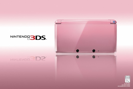 Nintendo adds Pink Pearl edition 3DS in time for Valentine's day