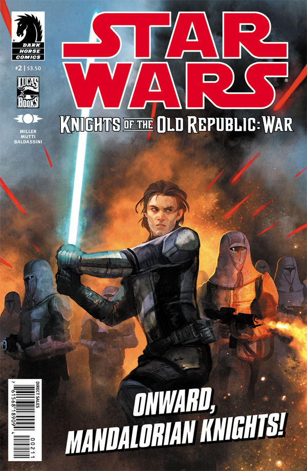 Review – Knights of the Old Republic – War #2