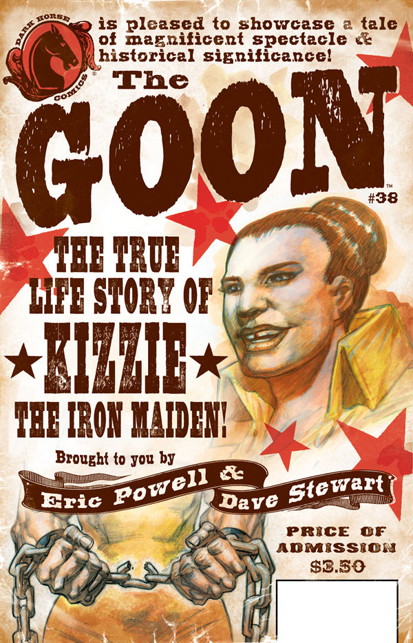 Review – The Goon #38 – The True Life Story of Kizzie: The Iron Maiden!