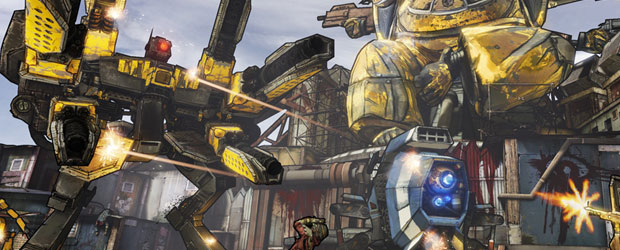 Borderlands 2 packs Steamworks on PC