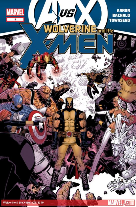 First looks: Avengers #25 and Wolverine & The X-Men #9