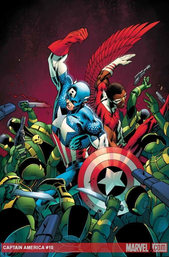 Captain America #10 preview pages arrive