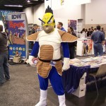 Homer Simpson Saiyan Style! Cosplay - WonderCon2012