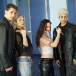 Angel, Buffy, Faith, Spike Cosplay - WonderCon 2012