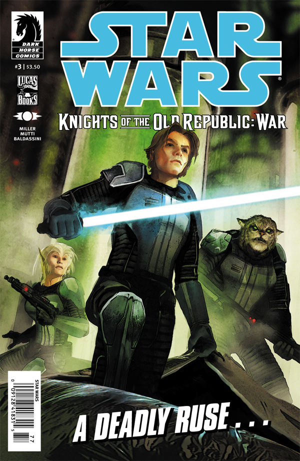 Review – Star Wars: Knights of the Old Republic – War #3 of 5