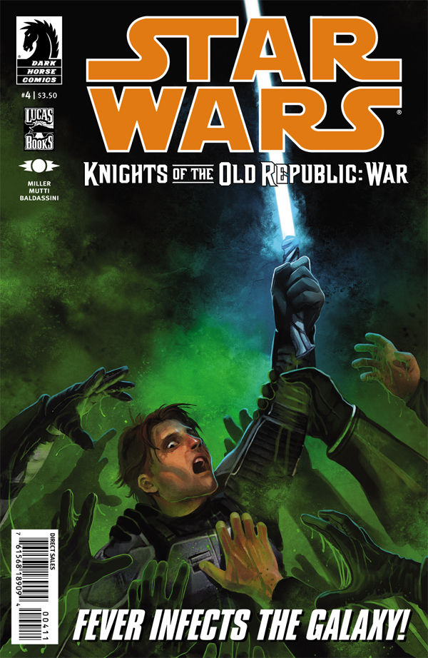 Review – Star Wars: Knights of the Old Republic – War #4 of 5