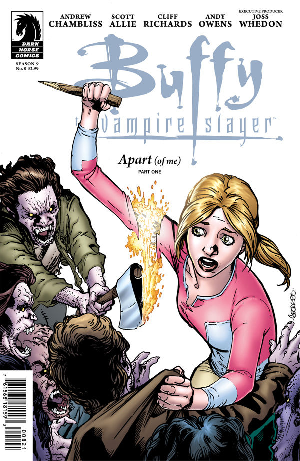 Review – Buffy The Vampire Slayer Season 9 #8 – Apart Of Me Part 1