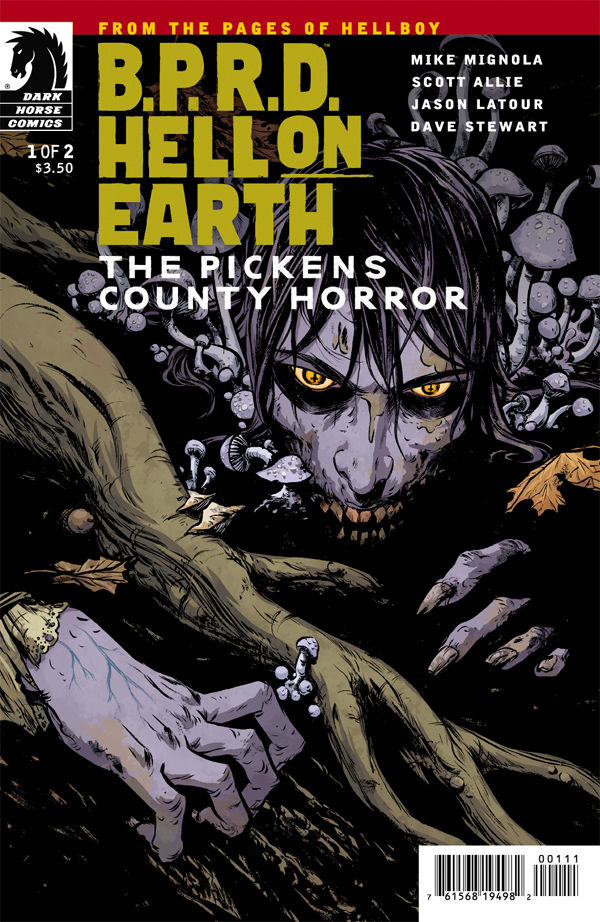 Review – B.P.R.D. Hell on Earth – The Pickens Country Horror #1