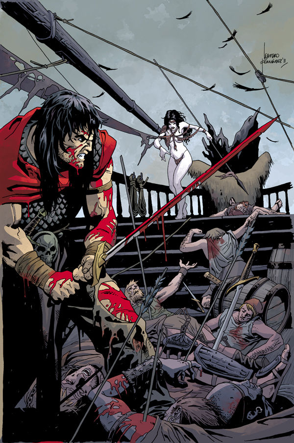 Review – Conan The Barbarian #2: Queen Of The Black Coast – Part 2