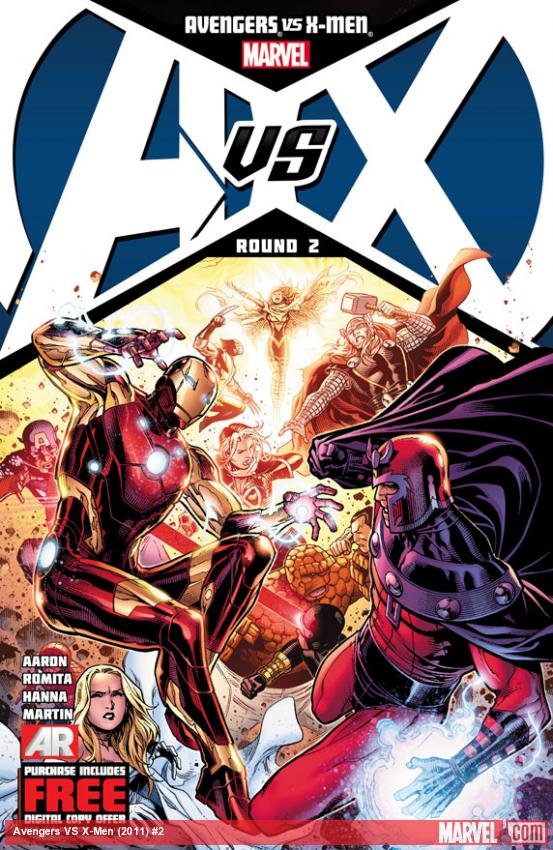 Avengers Vs. X-Men #2 preview pages arrive