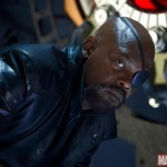 Samuel L. Jackson in The Avengers as Nick Fury