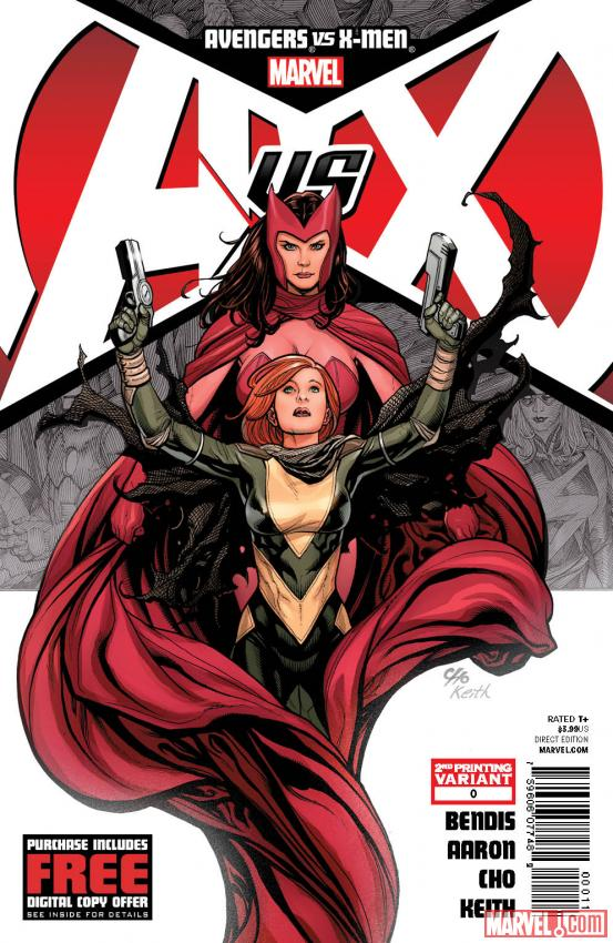 Avengers vs X-Men #0 sells out, second printing on the way