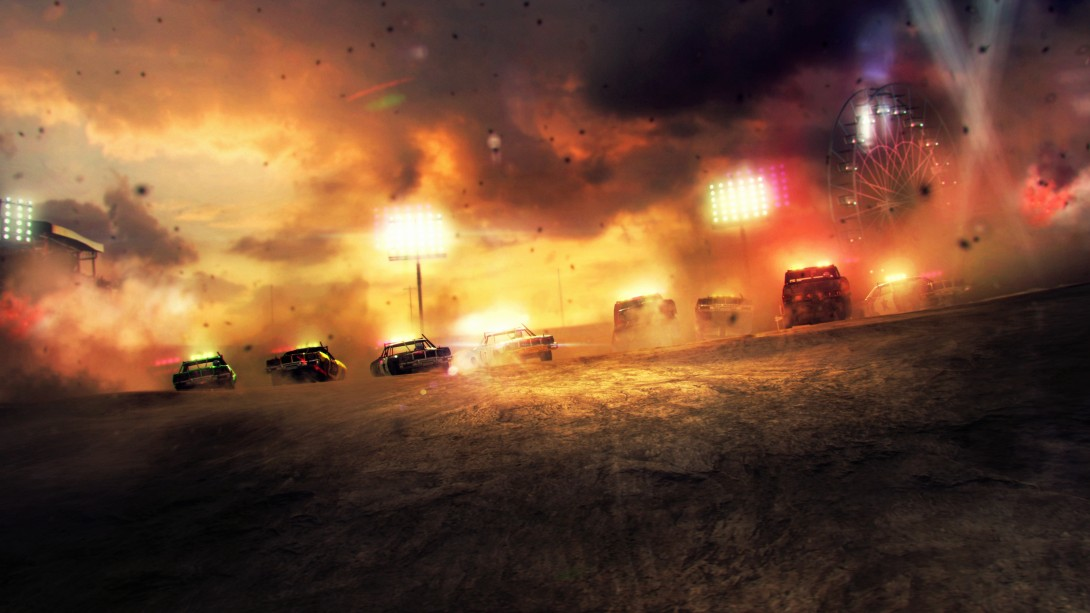 DiRT Showdown showcases destruction mode in new trailer