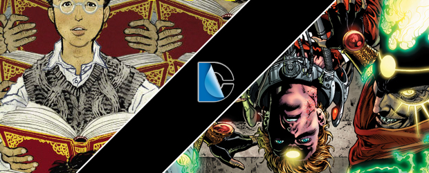 DC Comics preview pages for The Unwritten and The Fury of Firestorm break out