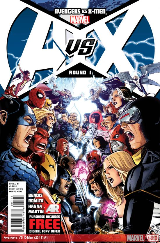 Curious about Avengers vs X-Men? We have a program guide to help you