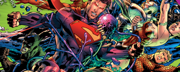 Justice League moves to the present in issue #7