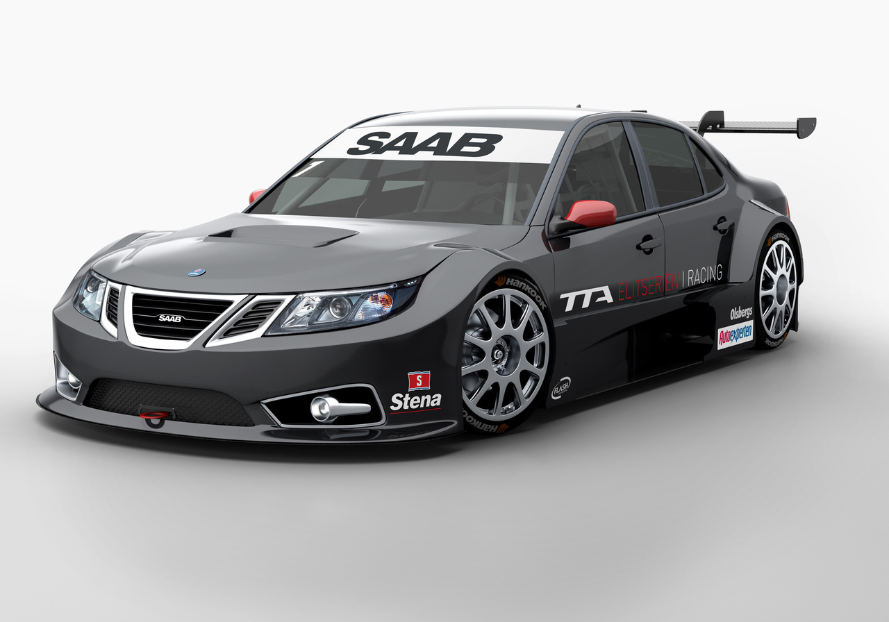 Flash Engineering brings the Saab 9-3 trackside