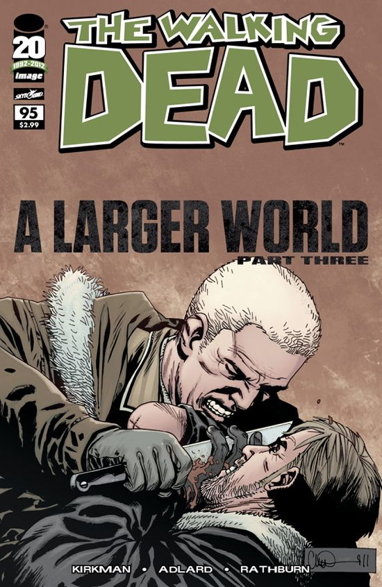 The Walking Dead Issue #95 hits retail today