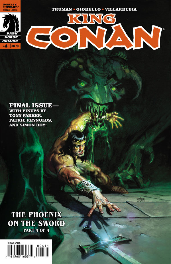 Review – King Conan #4: The Phoenix On The Sword Part 4 of 4
