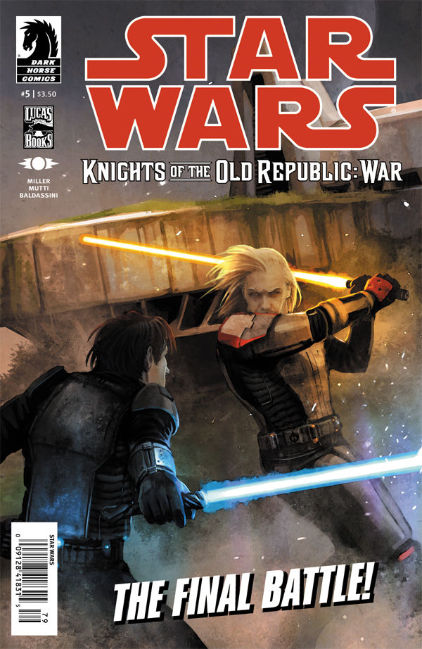 Review – Star Wars: Knights of the Old Republic – War #5 of 5