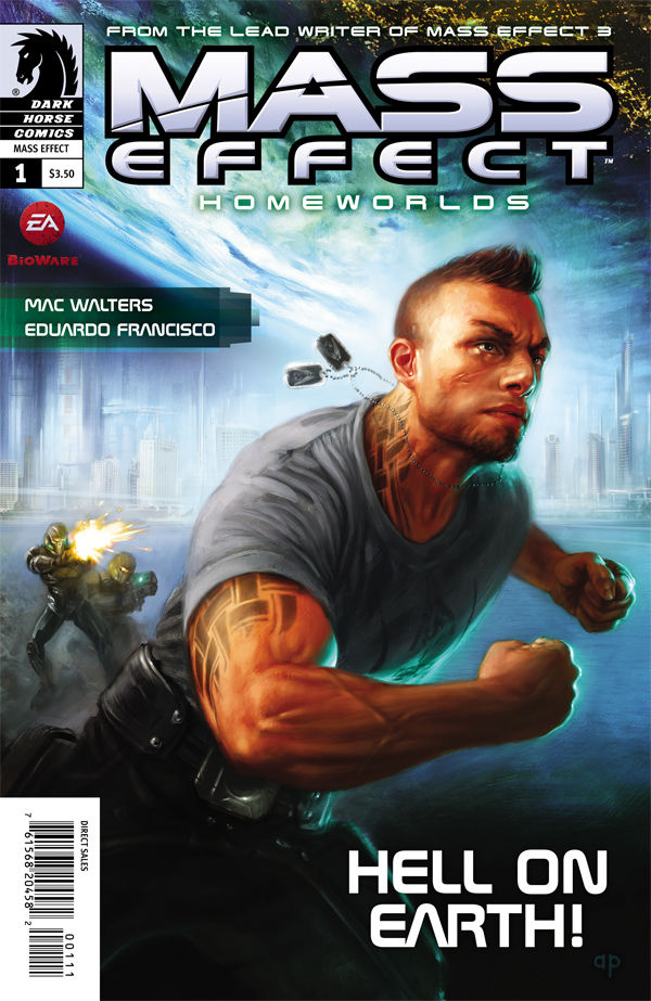 Review – Mass Effect: Homeworlds #1 of 4 – Hell On Earth