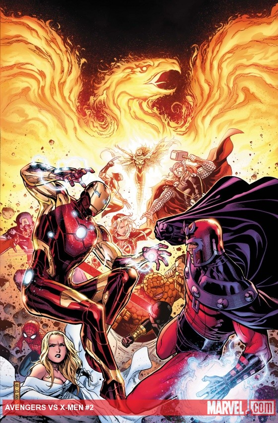 Review –  Avengers vs X-Men #2 – Round 2