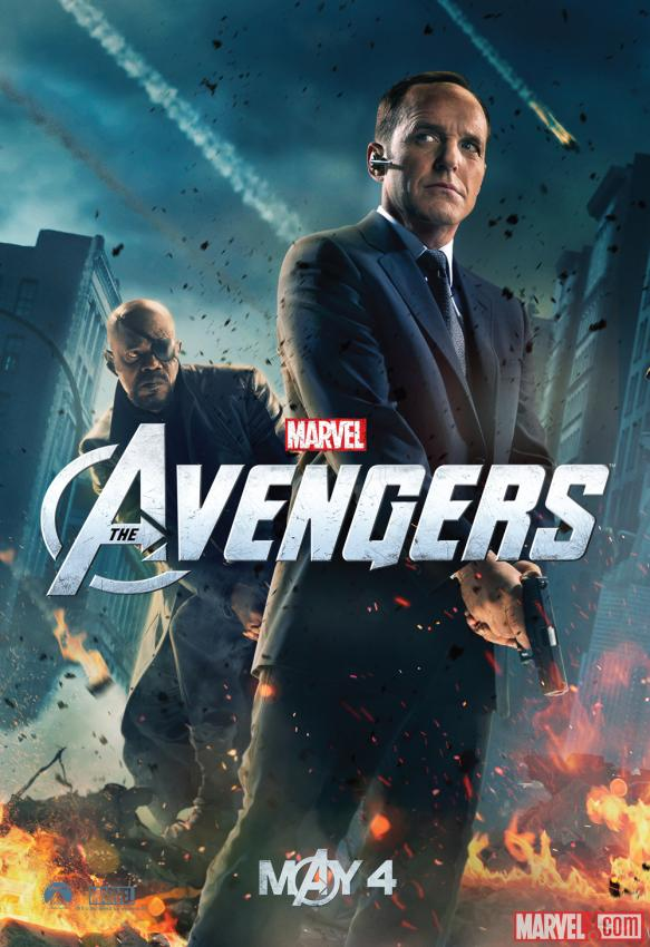 Marvel brings Avengers TV Spot Brings Helicarrier and Agent Coulson Poster