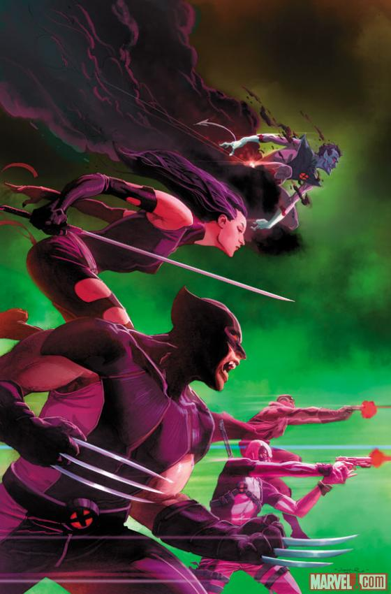 Uncanny X-Force #25 preview pages arrive!