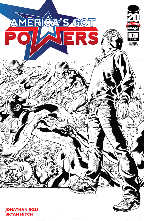 America's Got Powers sells out, hits second print