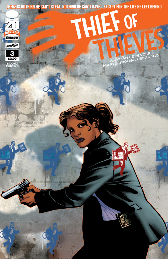 Kirkman's Thief of Thieves sells out again, #1 and #3 on the way