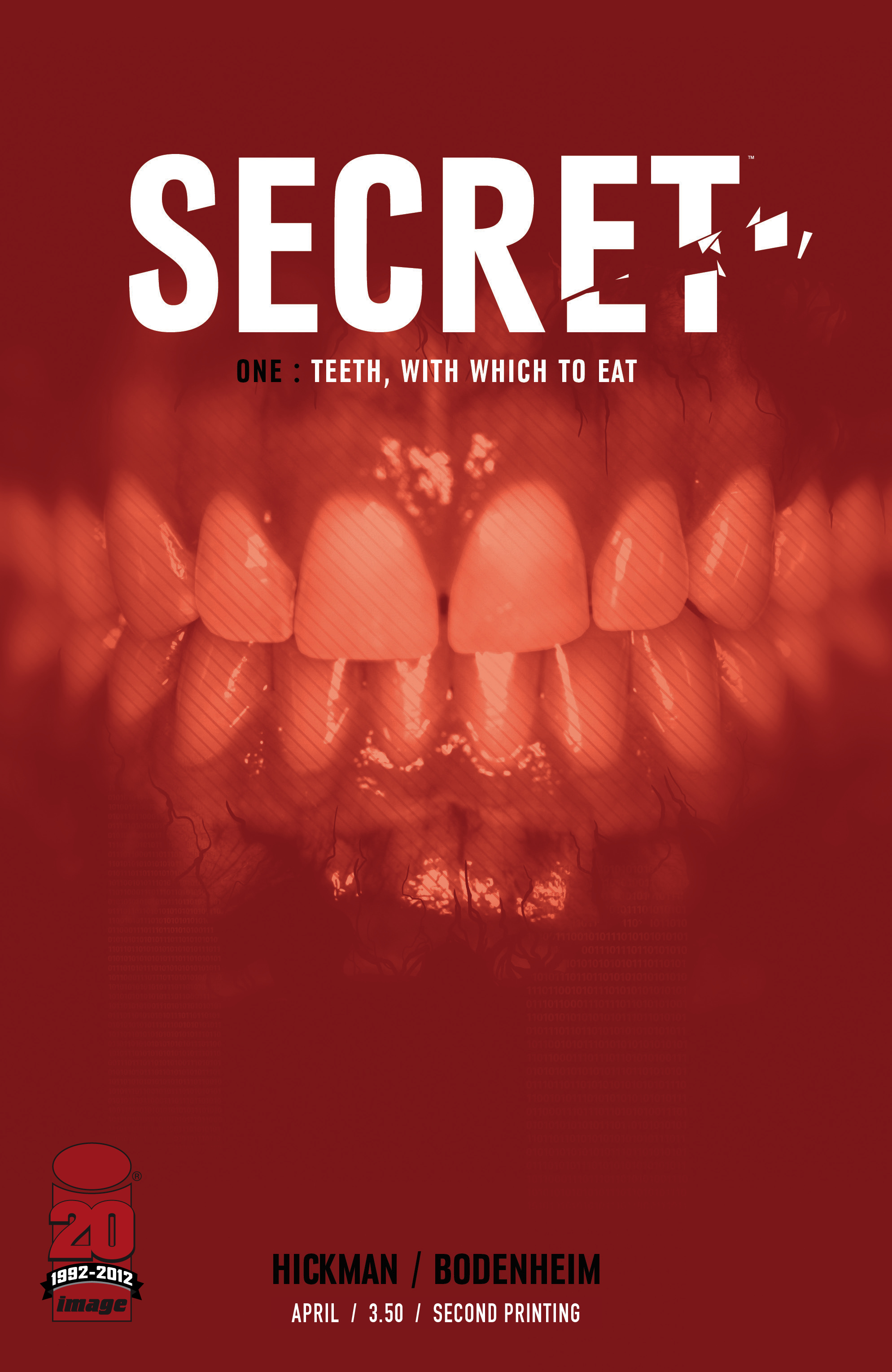 SECRET from Image comics sells out, goes into second print