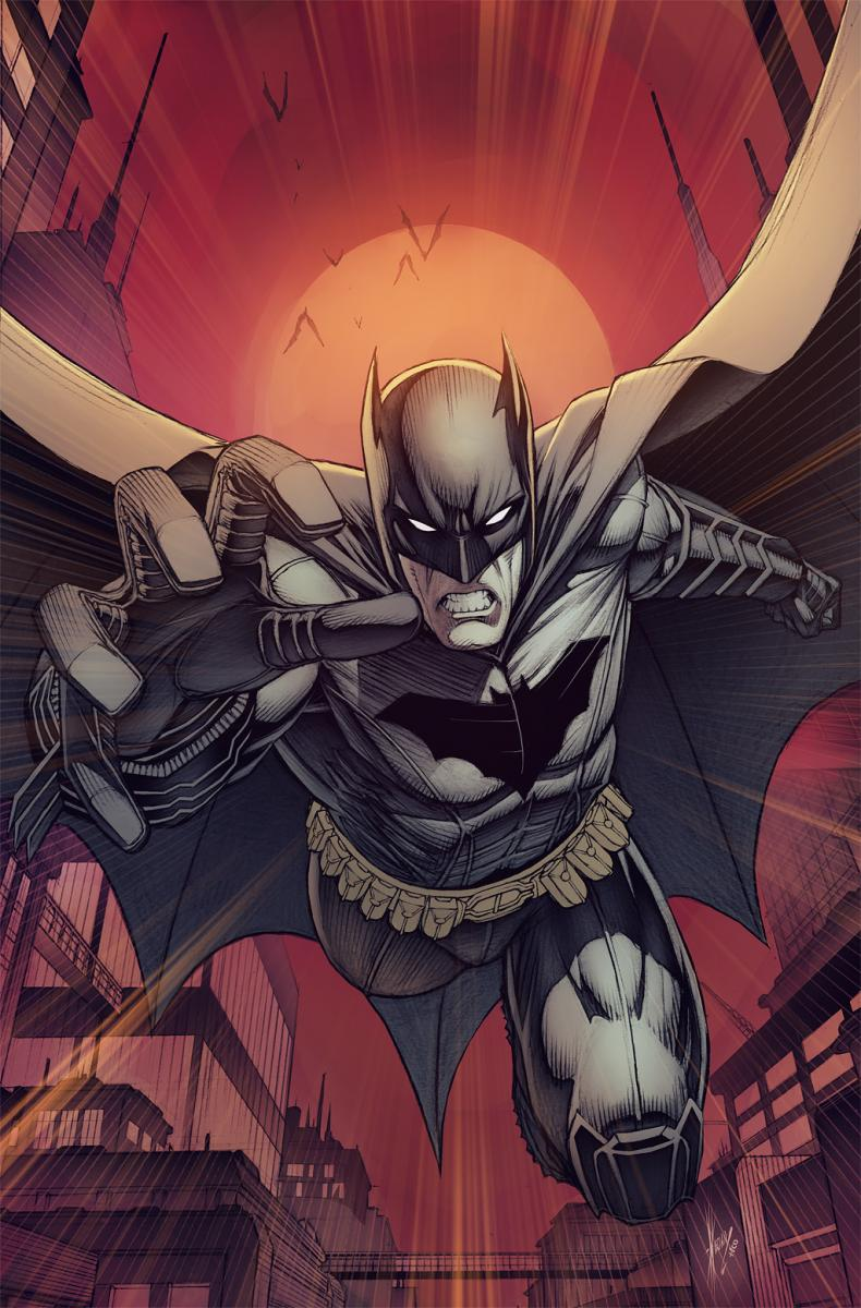 Dale Keown Batman #9 variant cover emerges