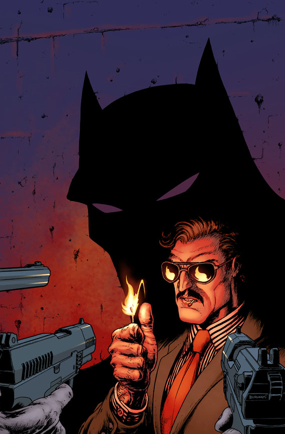 Batman Incorporated #3 gets cover art, awesome shadow puppets
