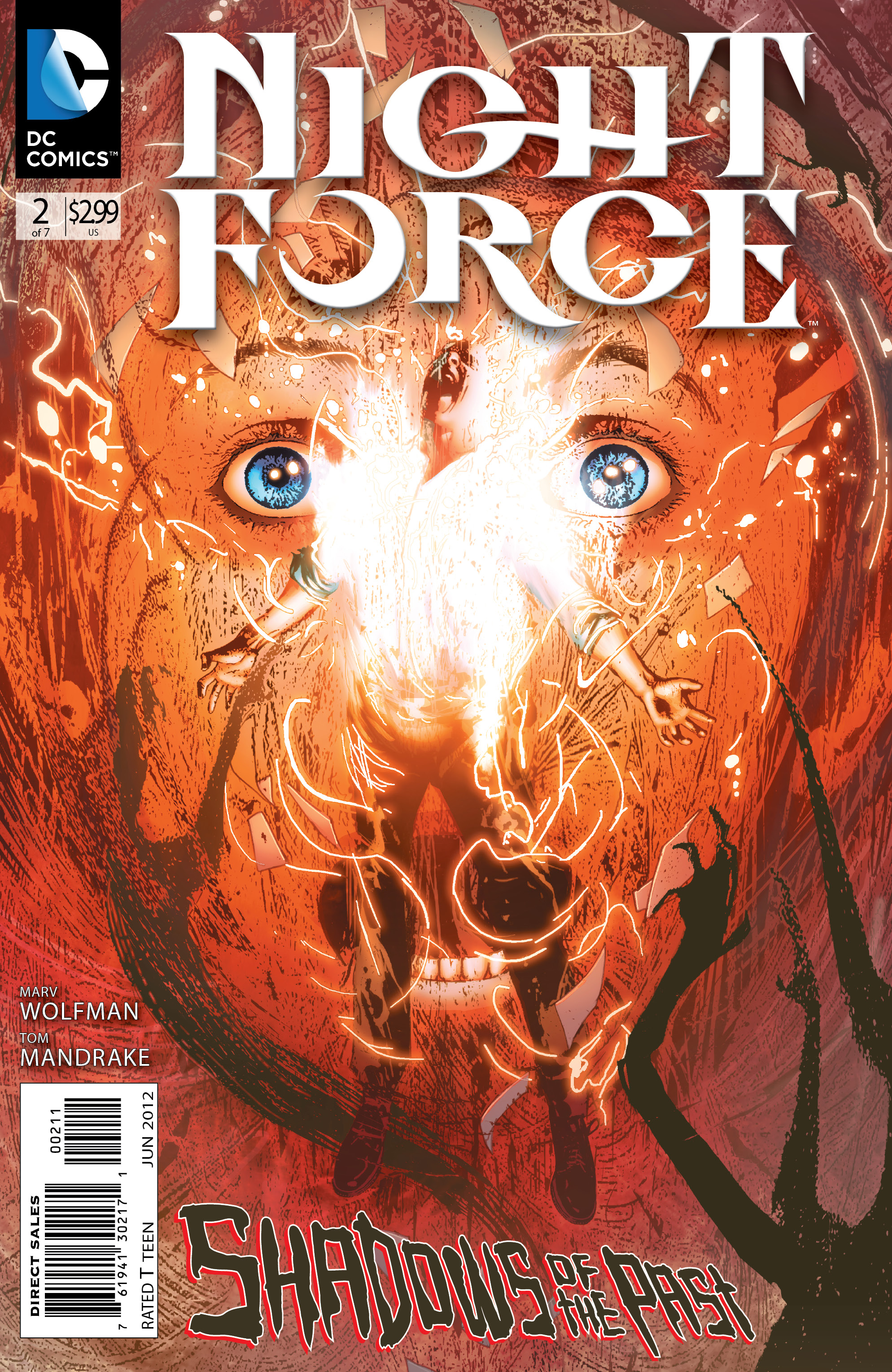 DC Comics releases Night Force #2 Preview