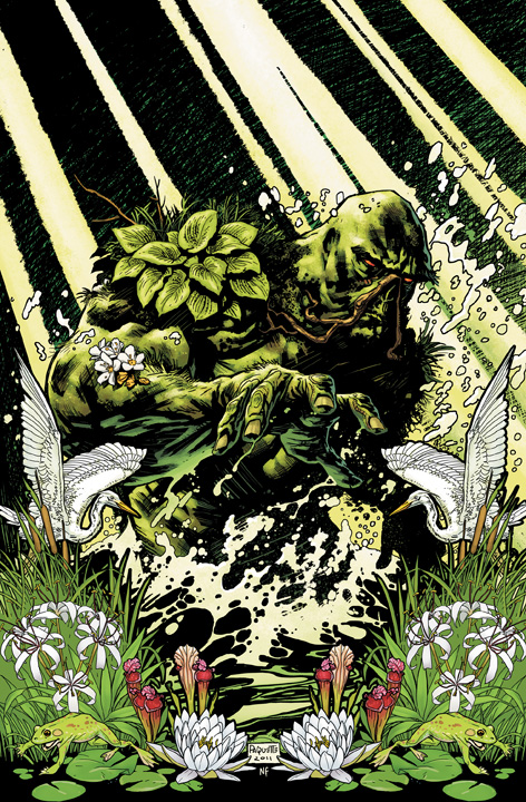 Scott Snyder and Jeff Lemire talk Swamp Thing and Animal Man crossover