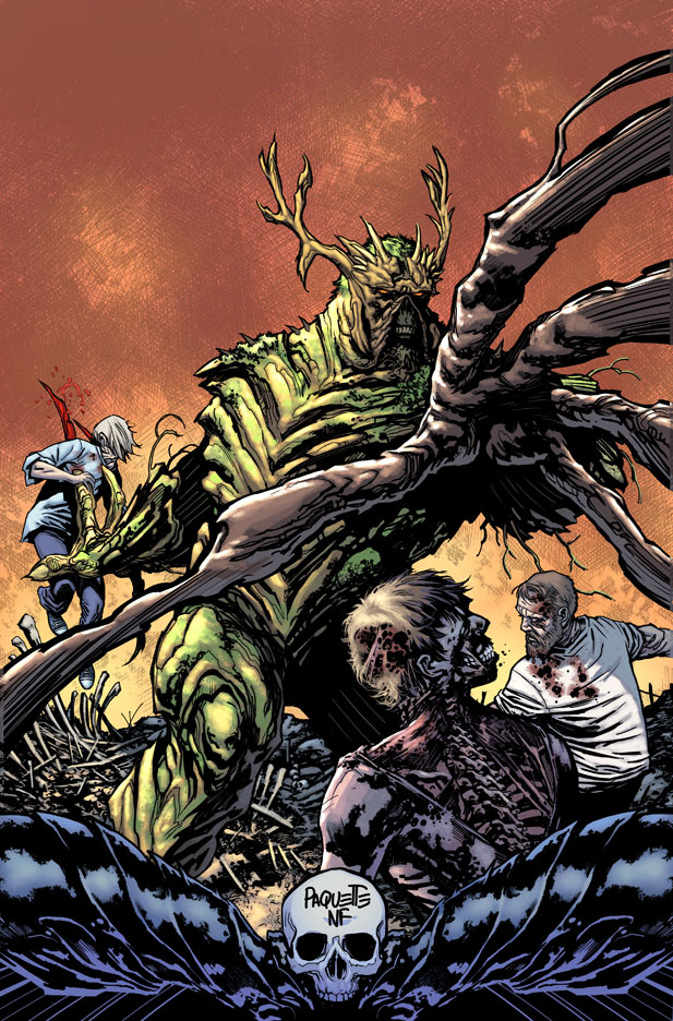 Swamp Thing gets a makeover from DC