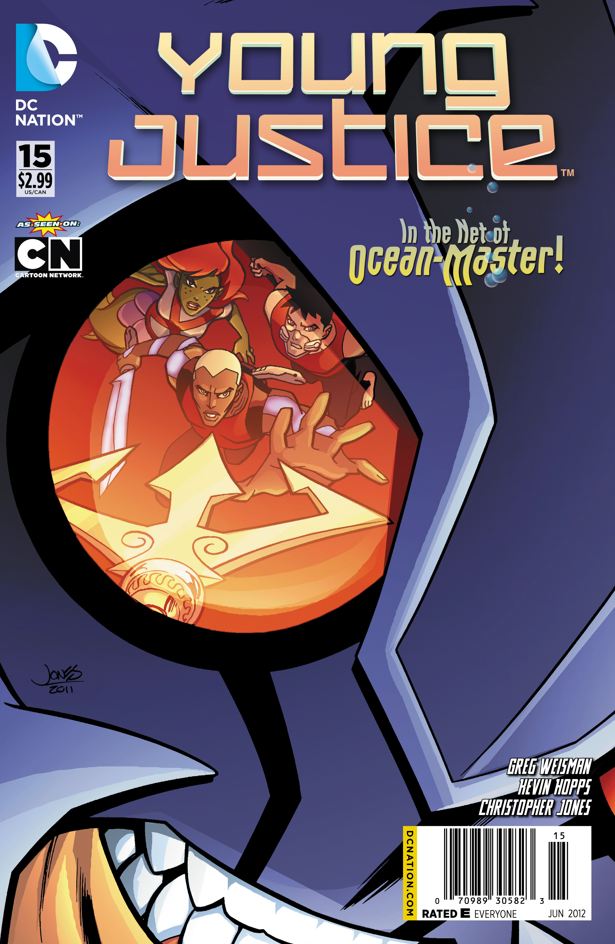 Young Justice #15 Preview arrives from DC