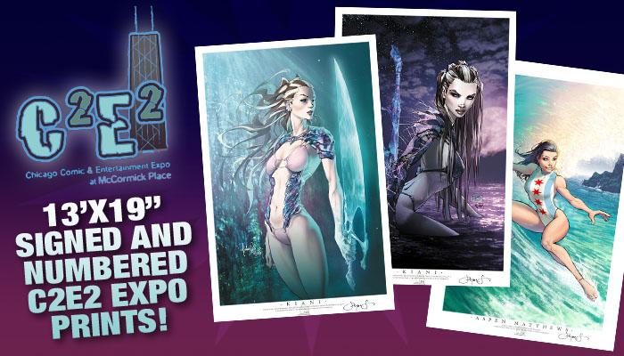 Aspen Comics heads to C2E2 with exclusive prints